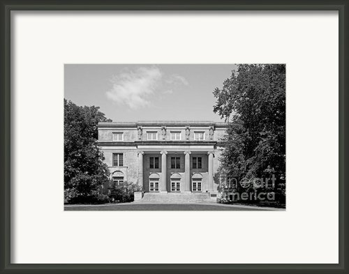 Iowa State University Mac Kay Hall Framed Print By University Icons