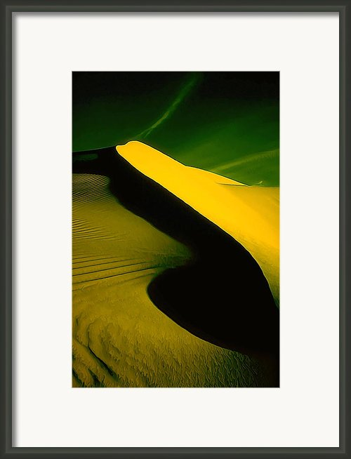 Ir Dune 2 Framed Print By Bill Caldwell -        Abeautifulsky Photography