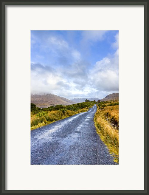 Irish Countryside Of Connemara Framed Print By Mark E Tisdale