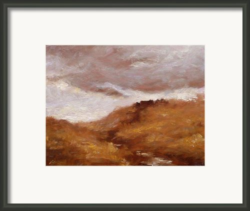 Irish Landscape I Framed Print By John Silver