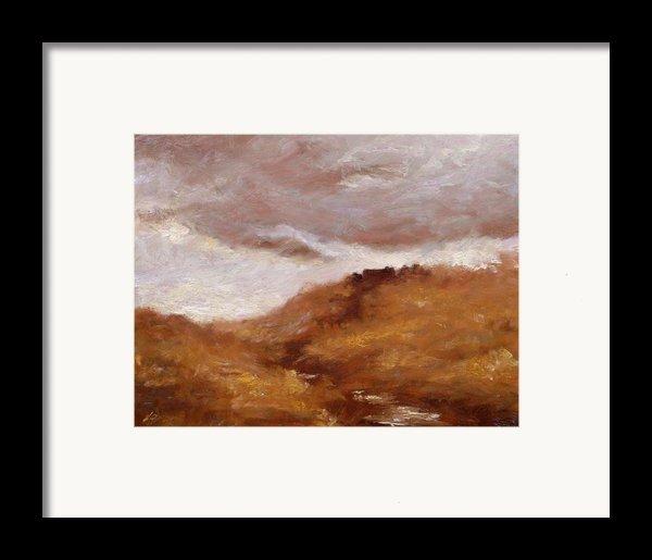 Irish Landscape I Framed Print By John Silver