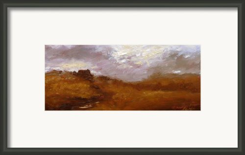 Irish Landscape Ii Framed Print By John Silver