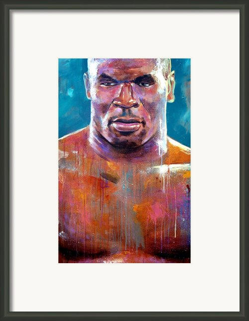 Iron Mike Framed Print By Robert Phelps