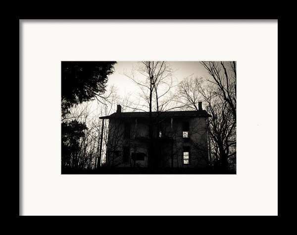 Is Anybody Home Framed Print By Off The Beaten Path Photography - Andrew Alexander