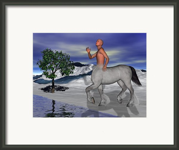 Is There Anyone Like Me Framed Print By Betsy A  Cutler
