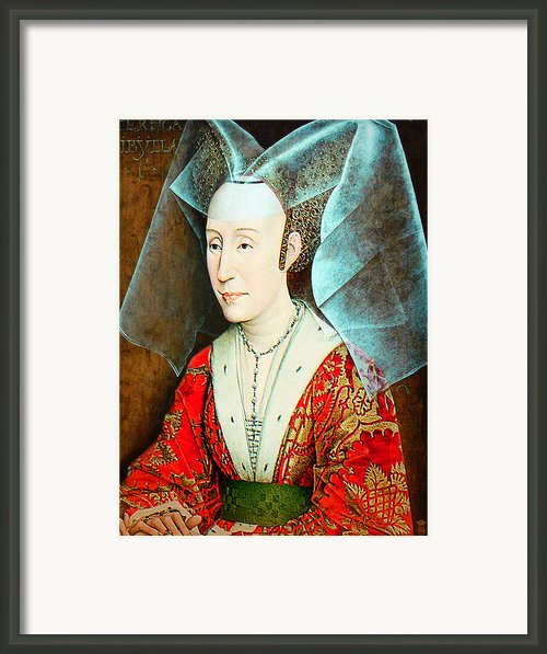Isabella Of Portugal 1397-1471 Framed Print By Li   Van Saathoff