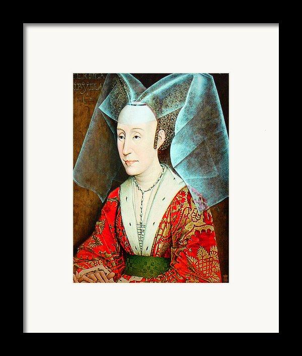 Isabella Of Portugal 1397-1471 Framed Print By Li   Van Saathoff
