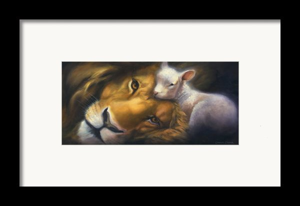 Isaiah Framed Print By Charice Cooper