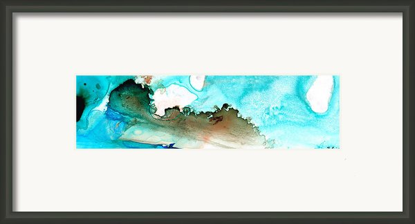 Island Of Hope Framed Print By Sharon Cummings