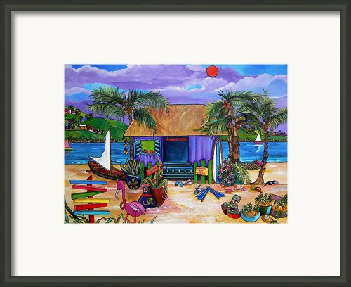 Island Time Framed Print By Patti Schermerhorn