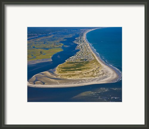 Isolated Luxury Framed Print By Betsy A Cutler East Coast Barrier Islands