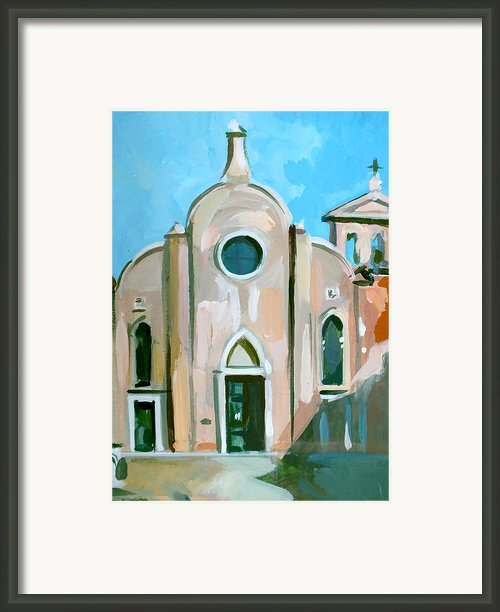 Italian Church Framed Print By Filip Mihail