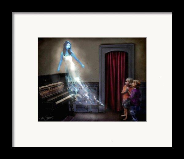 Ivory Ghost Framed Print By Tom Straub