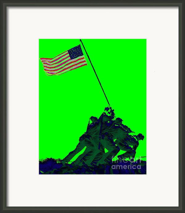 Iwo Jima 20130210p180 Framed Print By Wingsdomain Art And Photography