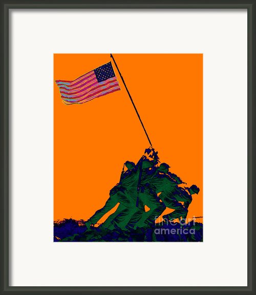 Iwo Jima 20130210p88 Framed Print By Wingsdomain Art And Photography
