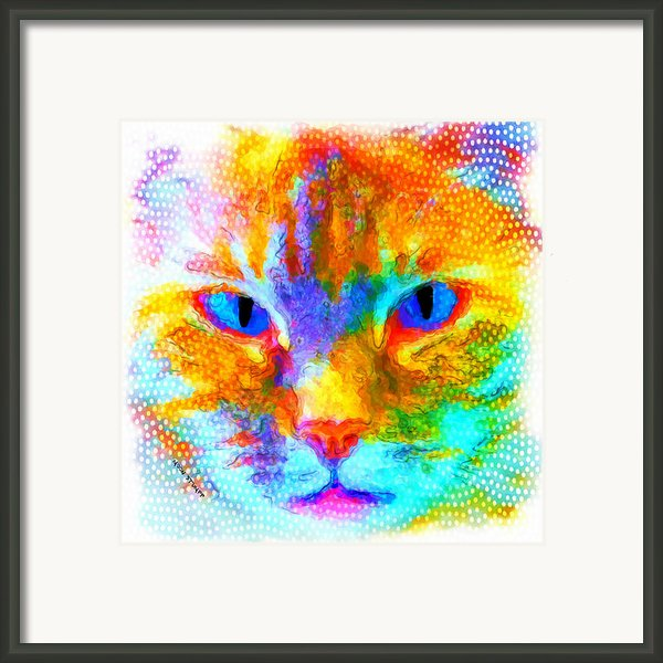 Izzy Framed Print By Moon Stumpp