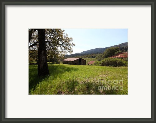 Jack London Stallion Barn 5d22056 Framed Print By Wingsdomain Art And Photography