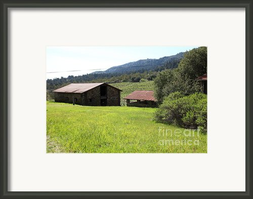 Jack London Stallion Barn 5d22058 Framed Print By Wingsdomain Art And Photography