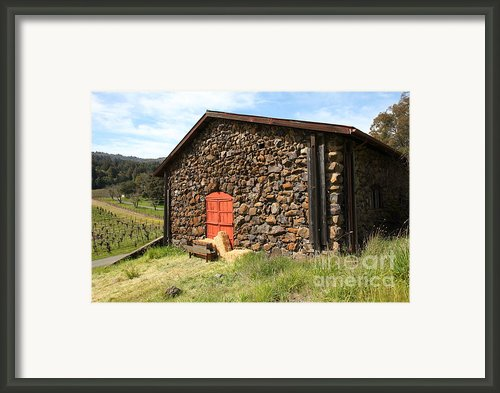 Jack London Stallion Barn 5d22104 Framed Print By Wingsdomain Art And Photography