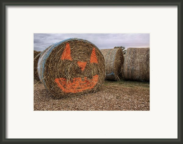 Jack-o-lantern Hayroll Framed Print By Jason Politte