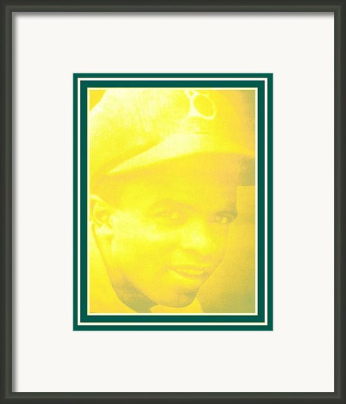 Jackie Robinson 2 Framed Print By Tracie Howard