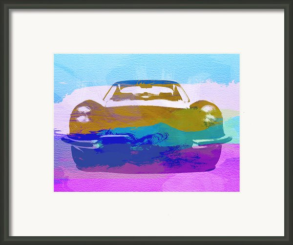 Jaguar E Type Front Framed Print By Irina  March