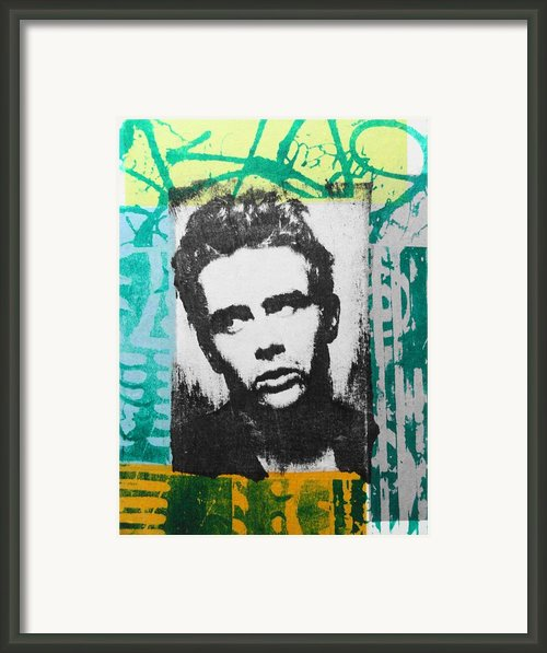 James Dean Framed Print By Carmine Santaniello