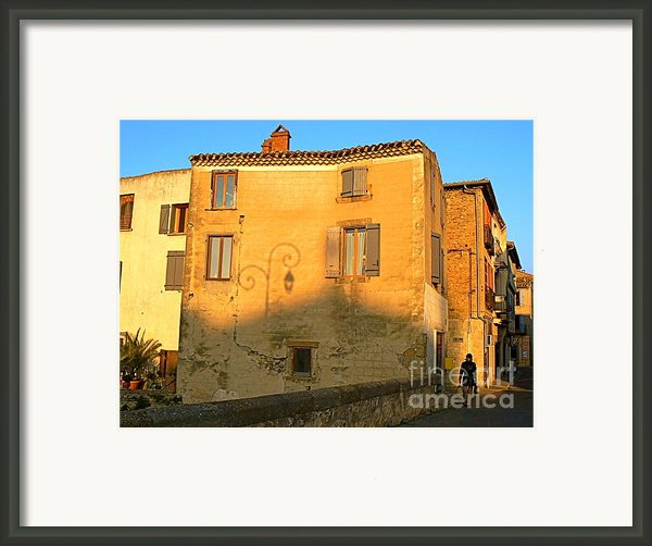 January In Limoux Framed Print By France  Art