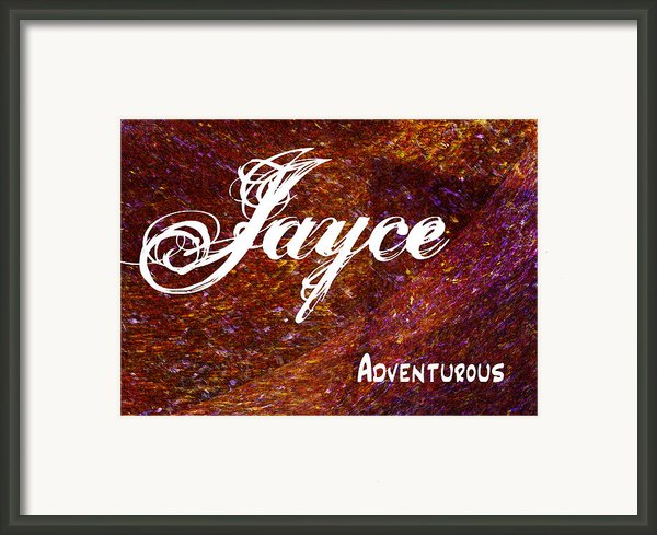 Jayce - Adventurous Framed Print By Christopher Gaston
