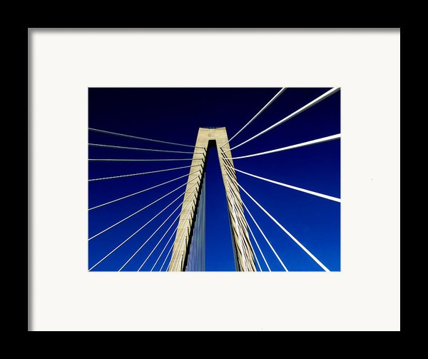 Jazz Of Charleston  Framed Print By Karen Wiles
