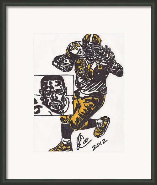Jerome Bettis Framed Print By Jeremiah Colley