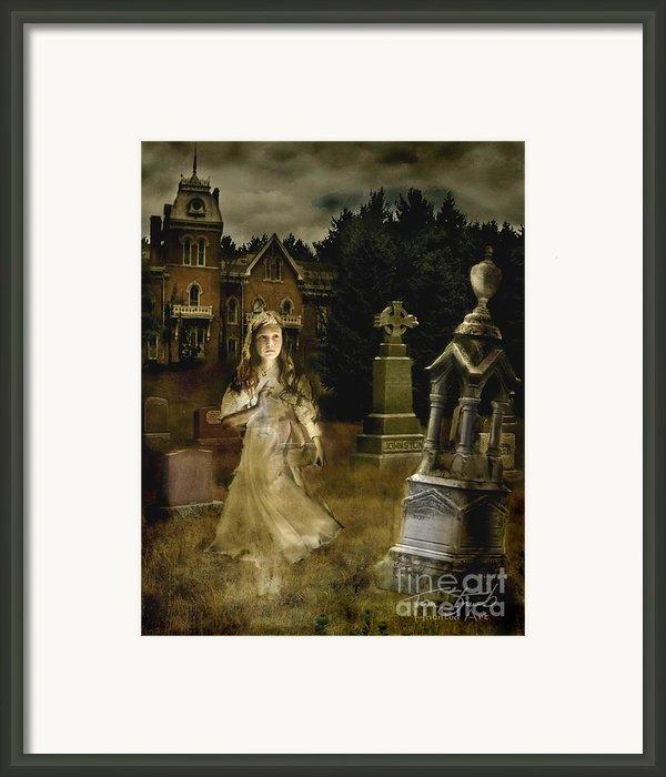 Jessica Framed Print By Tom Straub