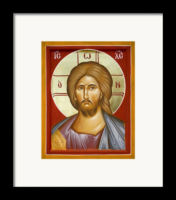 Jesus Christ Framed Print By Julia Bridget Hayes