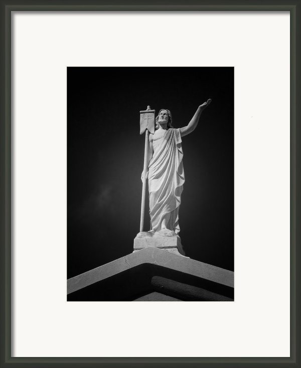 Jesus St Louis Cemetery No 3 New Orleans Framed Print By Christine Till