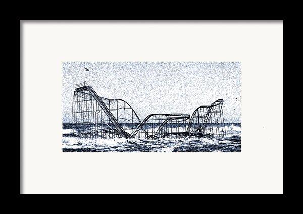 Jetstar 2012 Framed Print By  Tina Mcginley