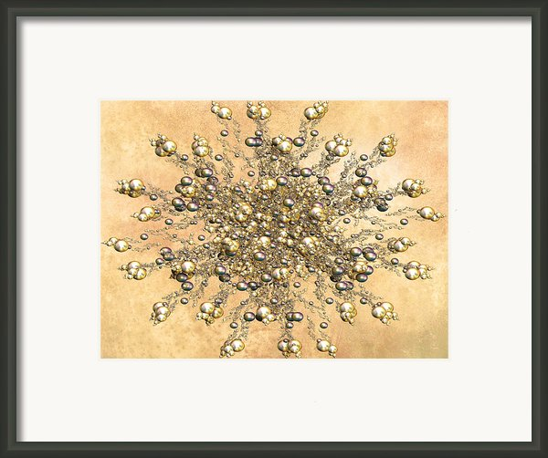 Jewels In The Sand Framed Print By Zeana Romanovna