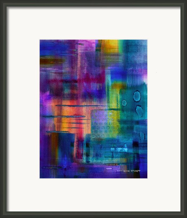 Jibe Joist Ii Framed Print By Moon Stumpp
