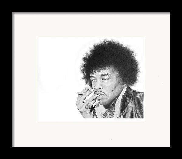 Jimi Hendrix Framed Print By Don Medina