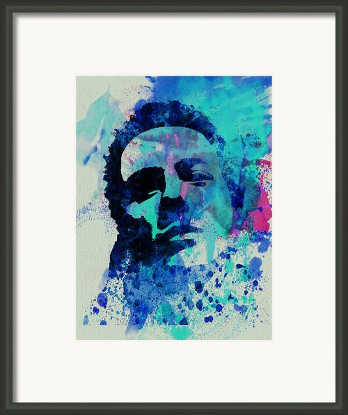 Joe Strummer Framed Print By Irina  March