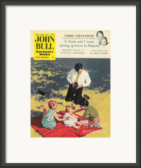 John Bull 1950s Uk Babies Cameras Framed Print By The Advertising Archives