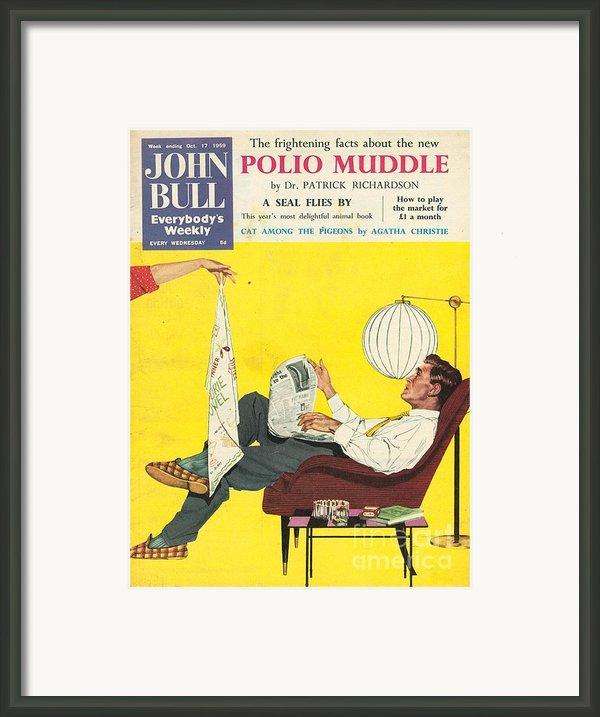 John Bull 1950s Uk Dish Washing Framed Print By The Advertising Archives