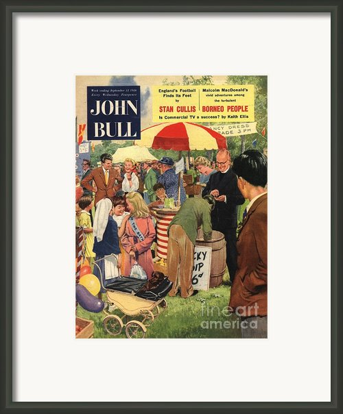 John Bull 1956 1950s Uk Schools Framed Print By The Advertising Archives