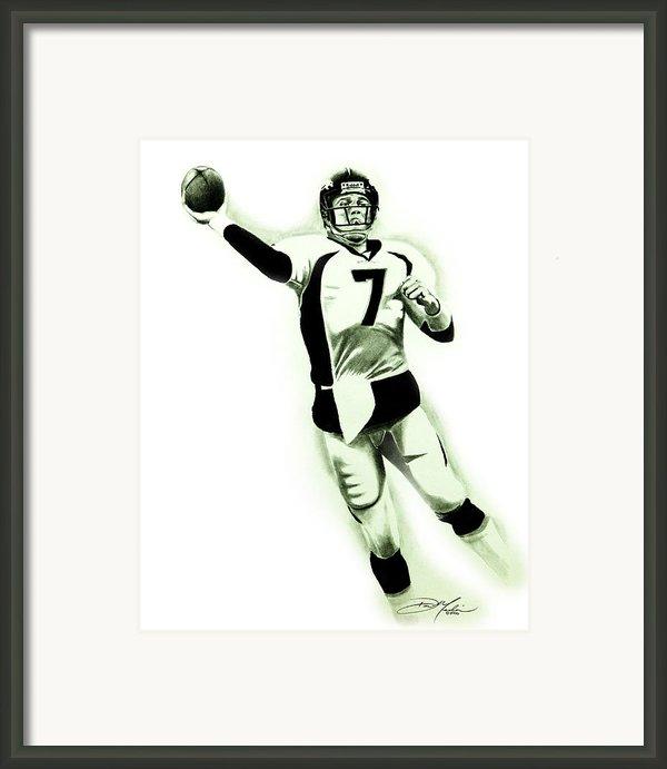John Elway Framed Print By Don Medina