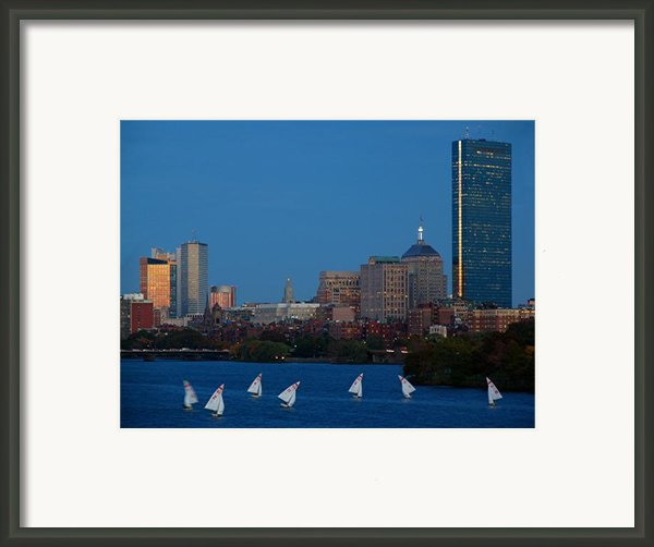 John Hancock Building Framed Print By Juergen Roth