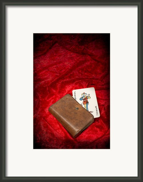 Joker Framed Print By Christopher And Amanda Elwell
