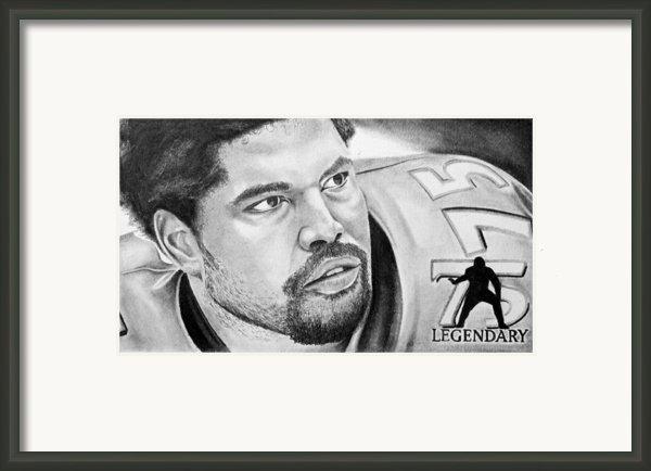 Jonathan Ogden Framed Print By Don Medina
