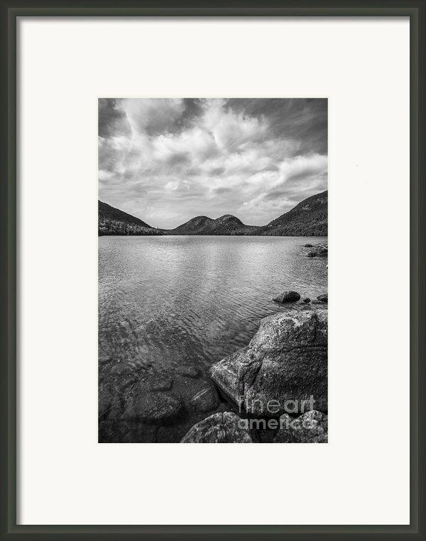 Jordan Pond Acadia National Park Maine. Framed Print By Diane Diederich