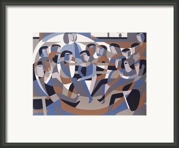 Jordan Quaker Meeting 2 Framed Print By Ron Waddams