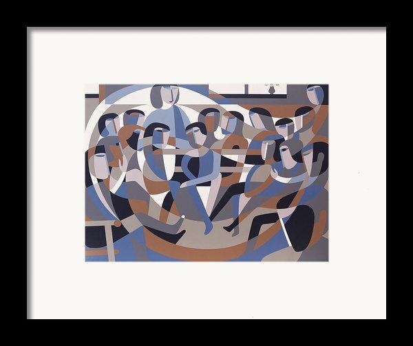Jordan Quaker Meeting 2 Framed Print By Ron Waddams