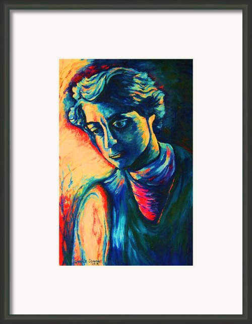 Joseph The Dreamer Framed Print By Carole Spandau